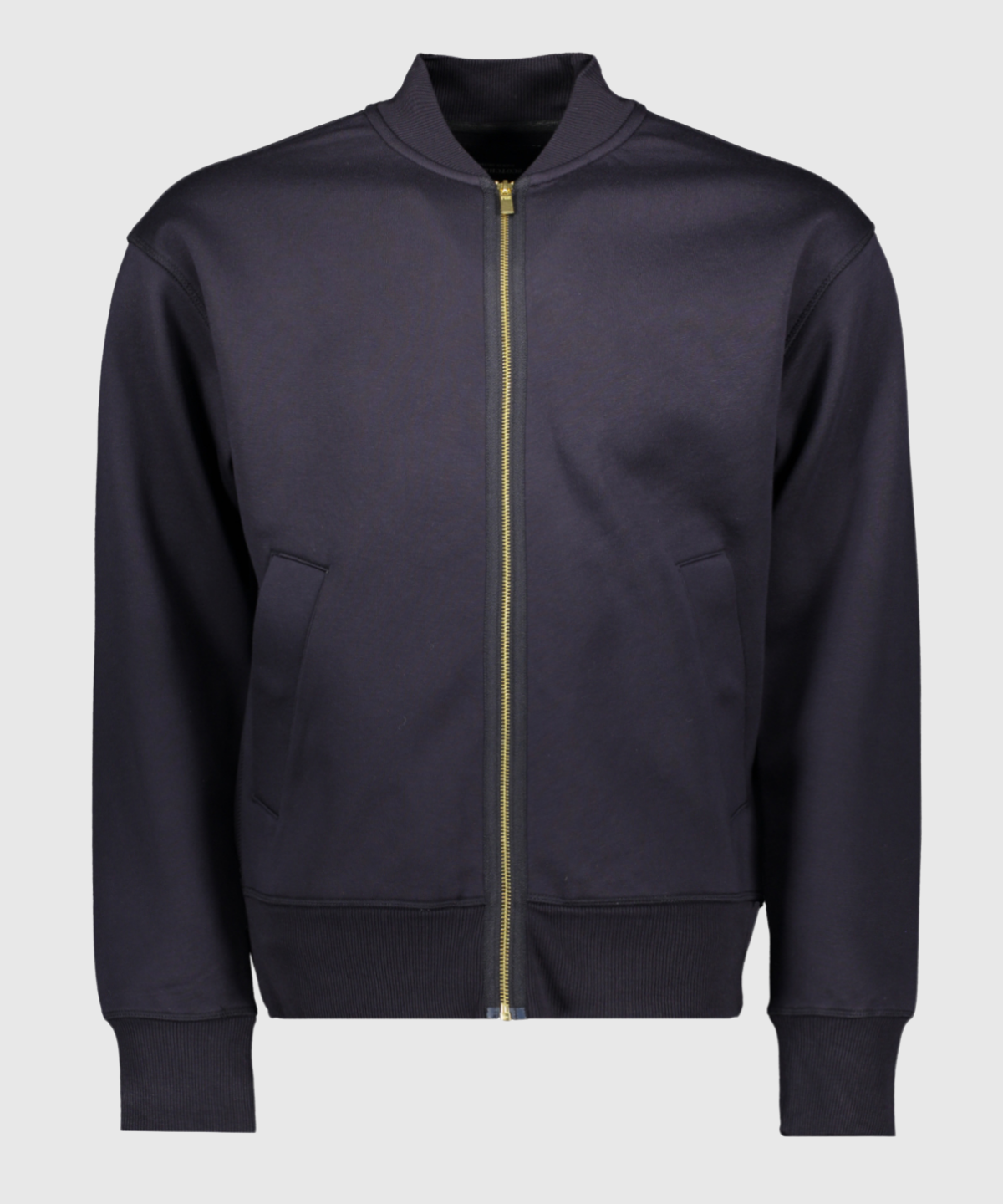 Relaxed Fit Zip-thru Bomber