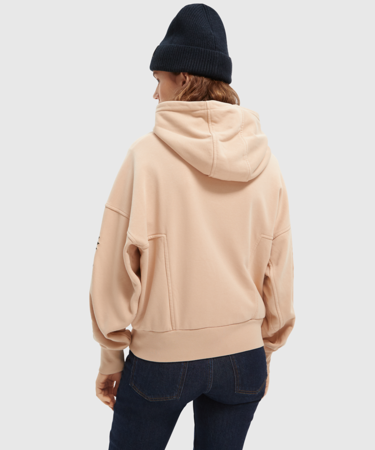 Oversized Hoodie Contains Organic Cotton