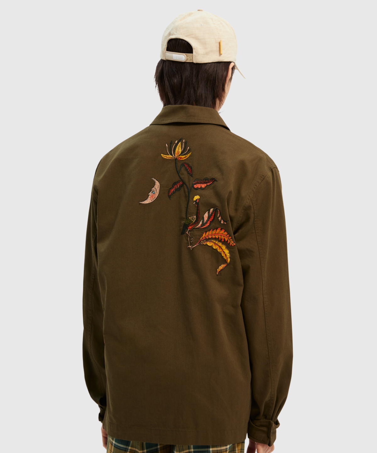 Embroidered Twill Worker Shirt