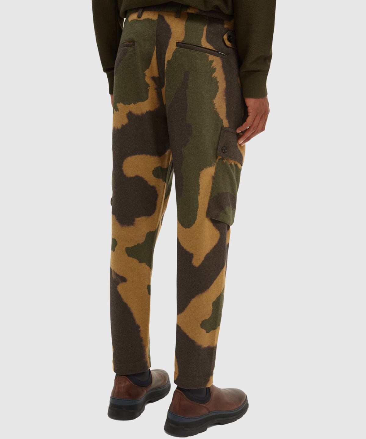 Regular Tapered Fit Cargo Pants