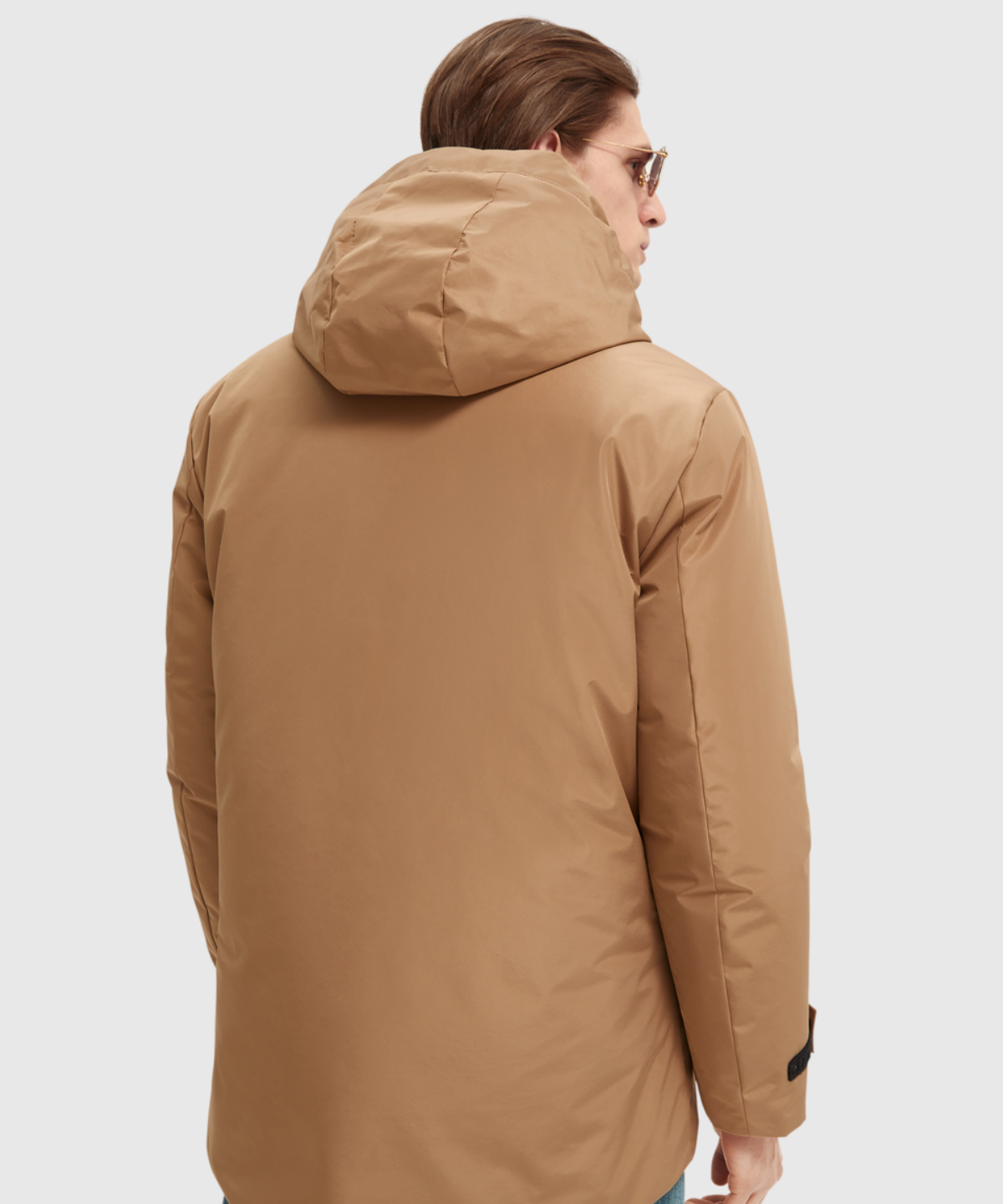 Recycled poly mid-length 2in1 jacket
